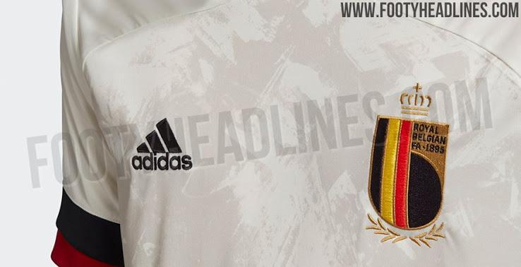 Camiseta Bélgica 2ª Equipación Euro 2020