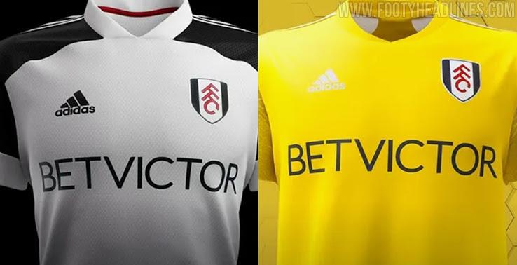 Camiseta de Local y Visitante del Fulham 2020-2021
