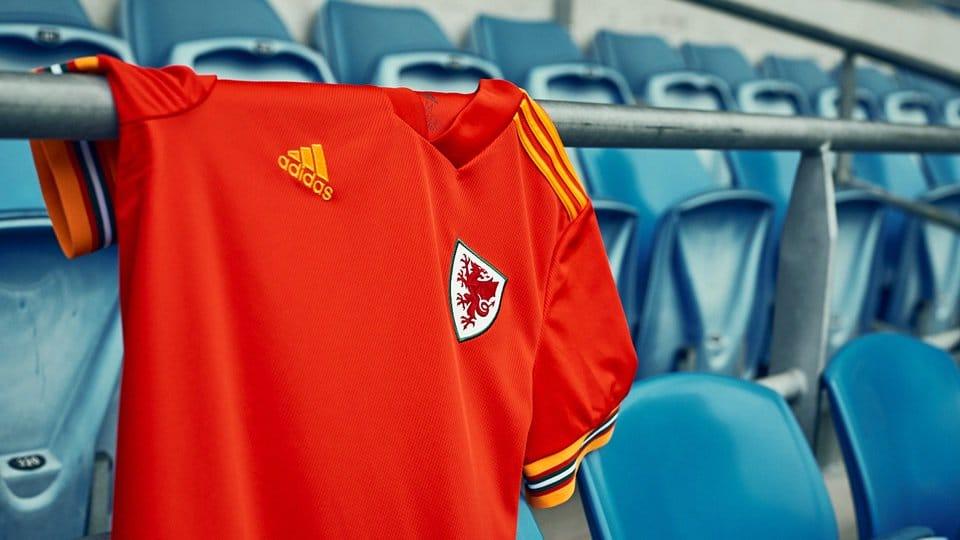 Camisetas de Gales Para la Eurocopa 2020