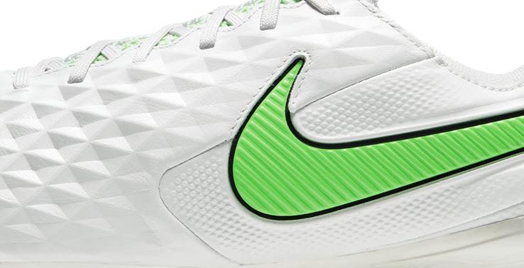 Lanzamiento de las botas Nike Tiempo Legend 8 2021 'Spectrum Pack' de color gris / verde