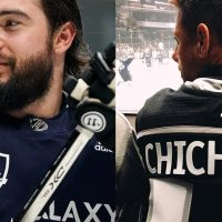 Camisetas LA Kings x LA Galaxy 2020 NHL Revelado