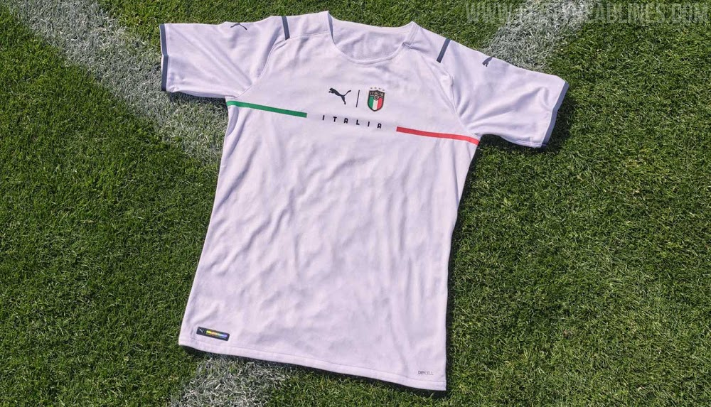 Camiseta de Visitante y de portero de Italia 2021-2022