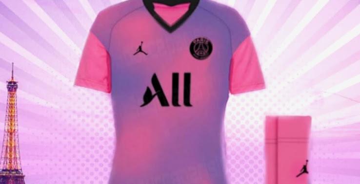 Cuarta Camiseta del PSG 2020-2021