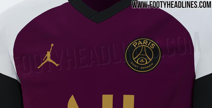 Camiseta Jordan PSG 2021 Tercer kit - Filtrado