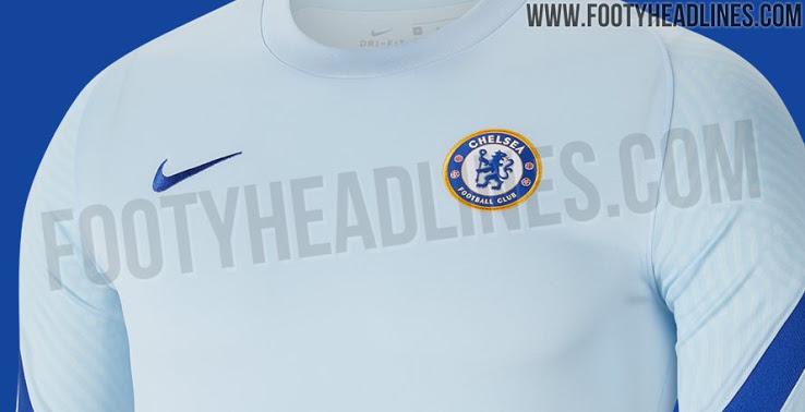 Camiseta de visitante del Chelsea FC 2020 - 2021