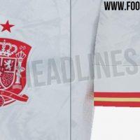 Posible camiseta que usará España en la Eurocopa 2020