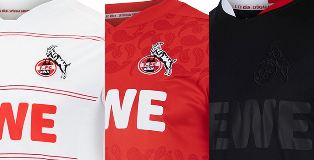 Camisetas de Local, Visitante y Tercera del Colonia 2021-2022