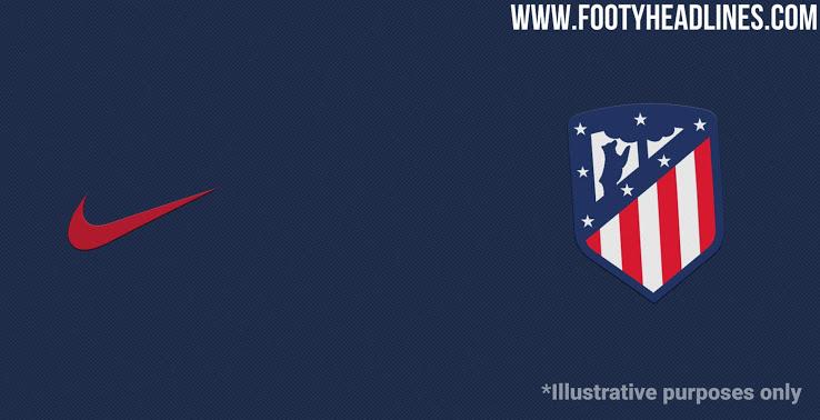 Filtrado: Camiseta 2ª Equipación Atlético Madrid 2021 Azul costero