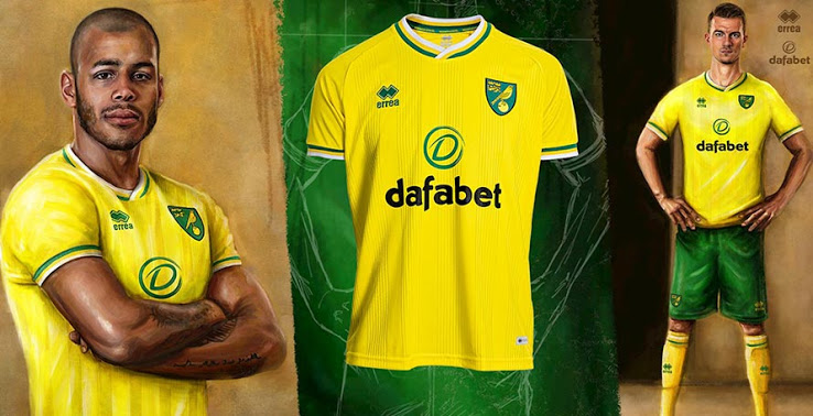 Camiseta de Local del Norwich City 2020-2021