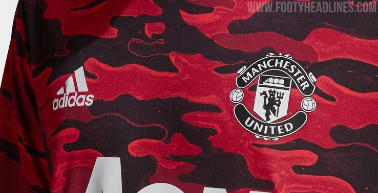 Camiseta Pre-Partido del Manchester United 2021