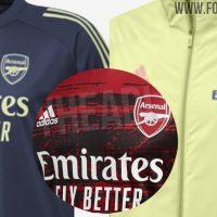 Camiseta de entrenamineto y pre-partido del Arsenal 2020-2021