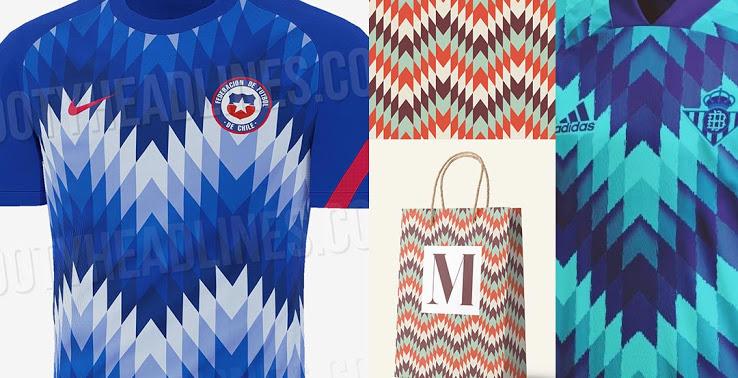 Camiseta Pre-Partido de Chile 2020