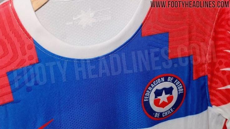 Camiseta de visitante de Chile para La Copa América 2020