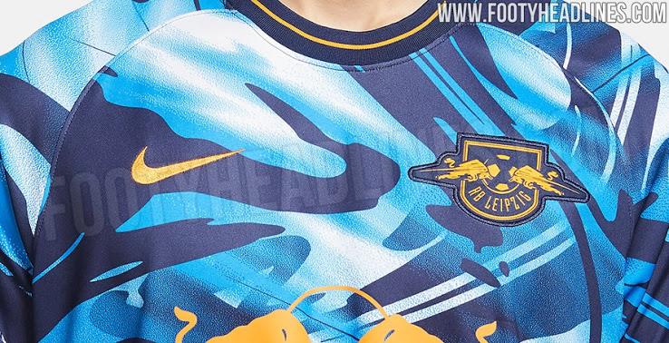 Tercera Camiseta del RB Leipzig 2020-2021