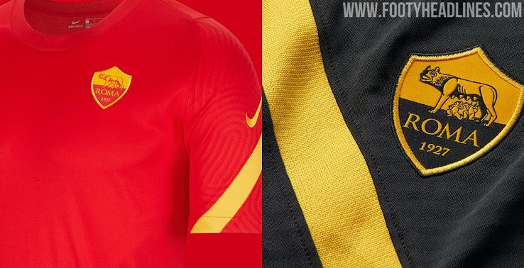 Camiseta de Entrenamiento del AS Roma 2020-2021