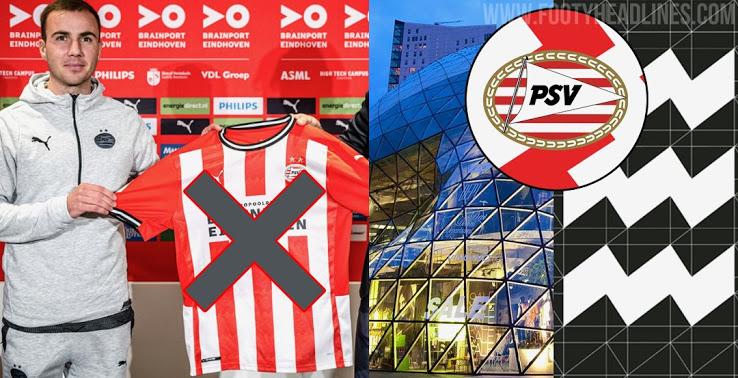 Camiseta de Local del PSV Eindhoven 2021-2022