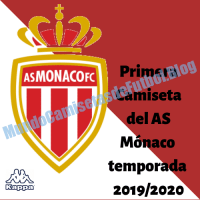 Primera Camiseta del AS Mónaco temporada 2019/2020