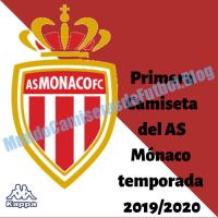 Primera Camiseta del AS Mónaco temporada 2019/2020