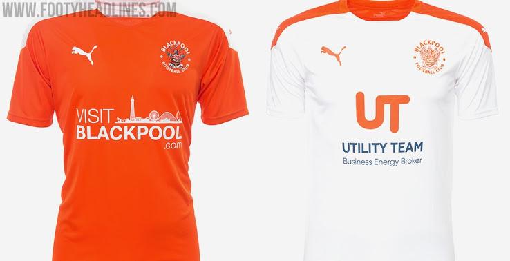 Camiseta de Local y Visitante del Blackpool 2020-2021