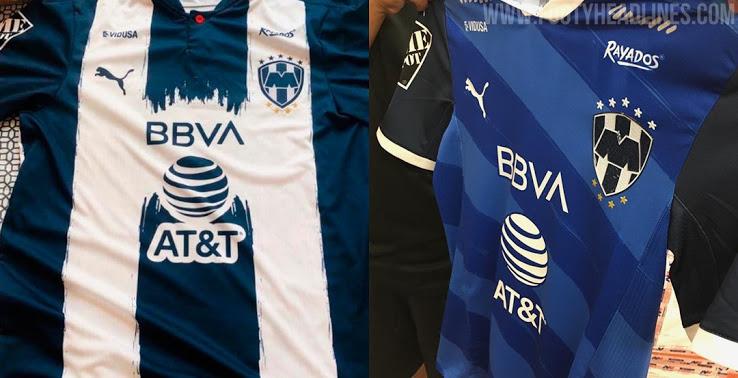 Camiseta de Local y Visitante de los Rayados De Monterrey 2020-2021