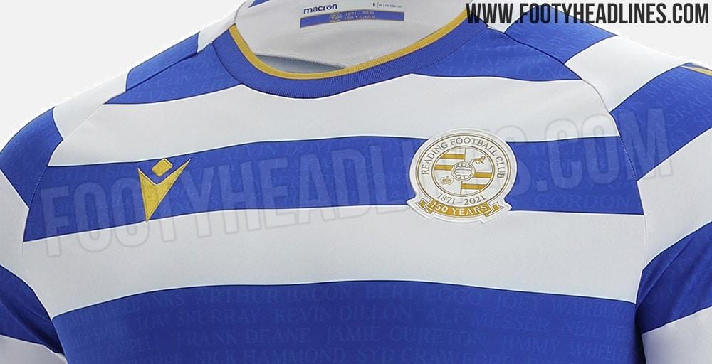 Camiseta de Local del Reading 2021-2022