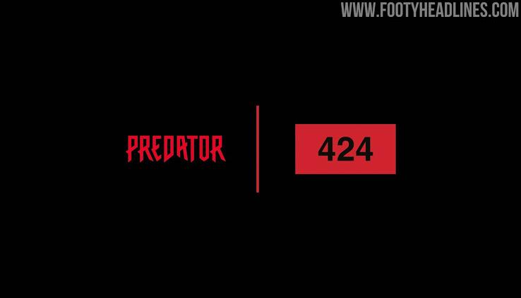 Botas Adidas x 424 A Especiales de Liberación del Depredador 20