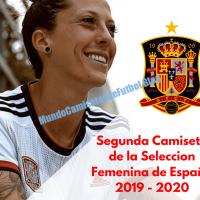 Camiseta visitante de España para la Copa Mundial Femenina 2019