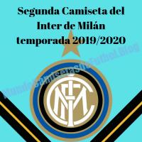 Segunda Camiseta del Inter de Milán temporada 2019/2020