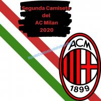 Segunda Camiseta del AC Milan 2019/2020
