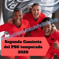 Segunda Camiseta del PSG temporada 2020