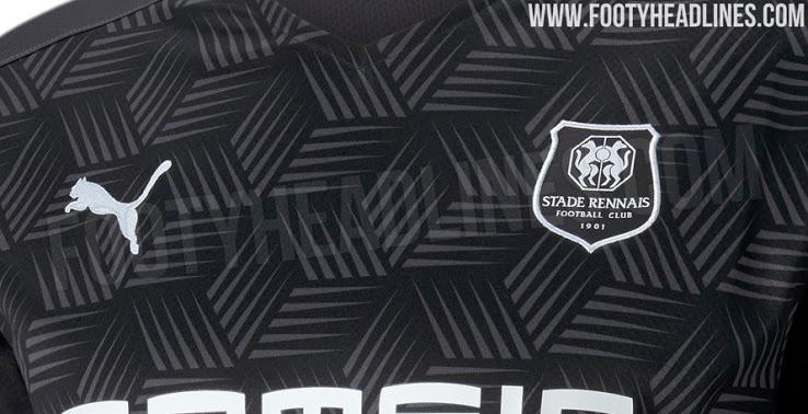 Camiseta Alternativa del Stade Rennais 2020-2021