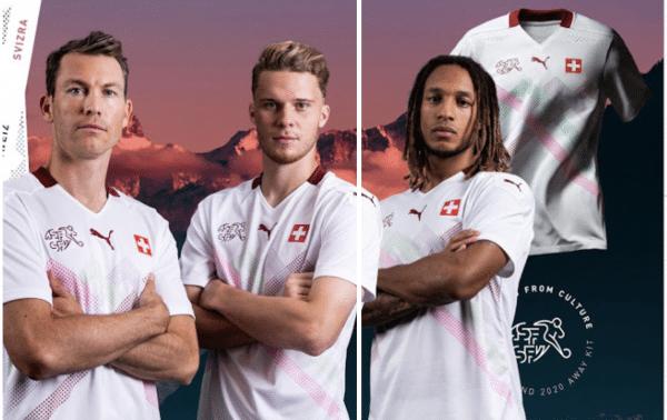 Camisetas de Suiza para la Eurocopa 2020