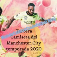 Tercera Camiseta del Manchester City temporada 2020