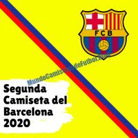 Segunda Camiseta del Barcelona FC para la Temporada 2020