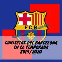 Nueva Camiseta de Local del Barcelona FC de 2020