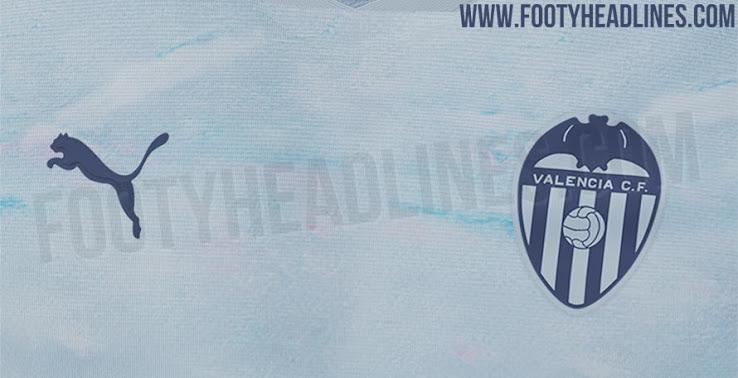 Tercera camiseta del Valencia 2020-2021