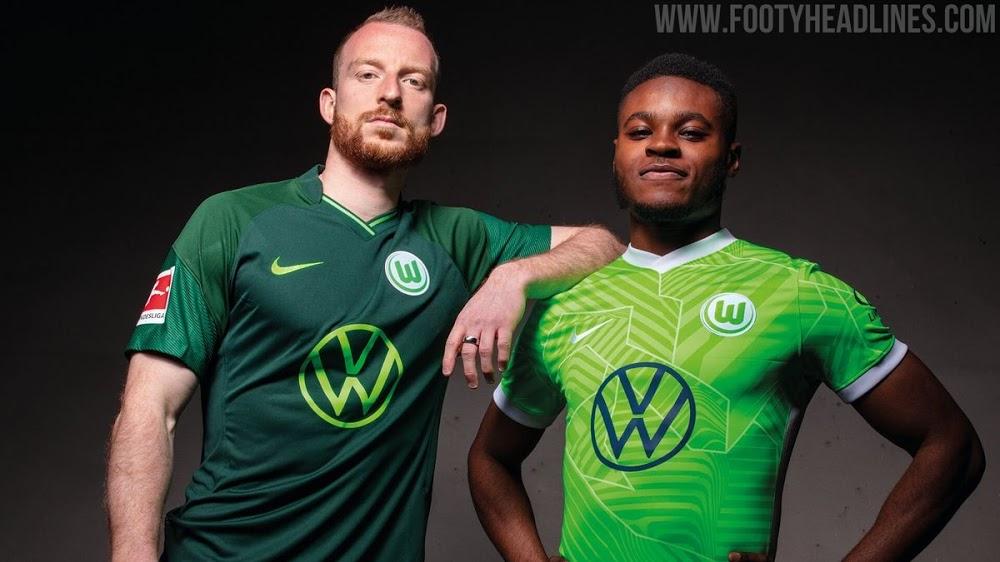 Camiseta de Local y Visitante del Wolfsburgo 2021-2022
