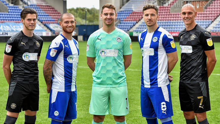 Camiseta de Local y Visitante del Wigan Athletic 2020-2021
