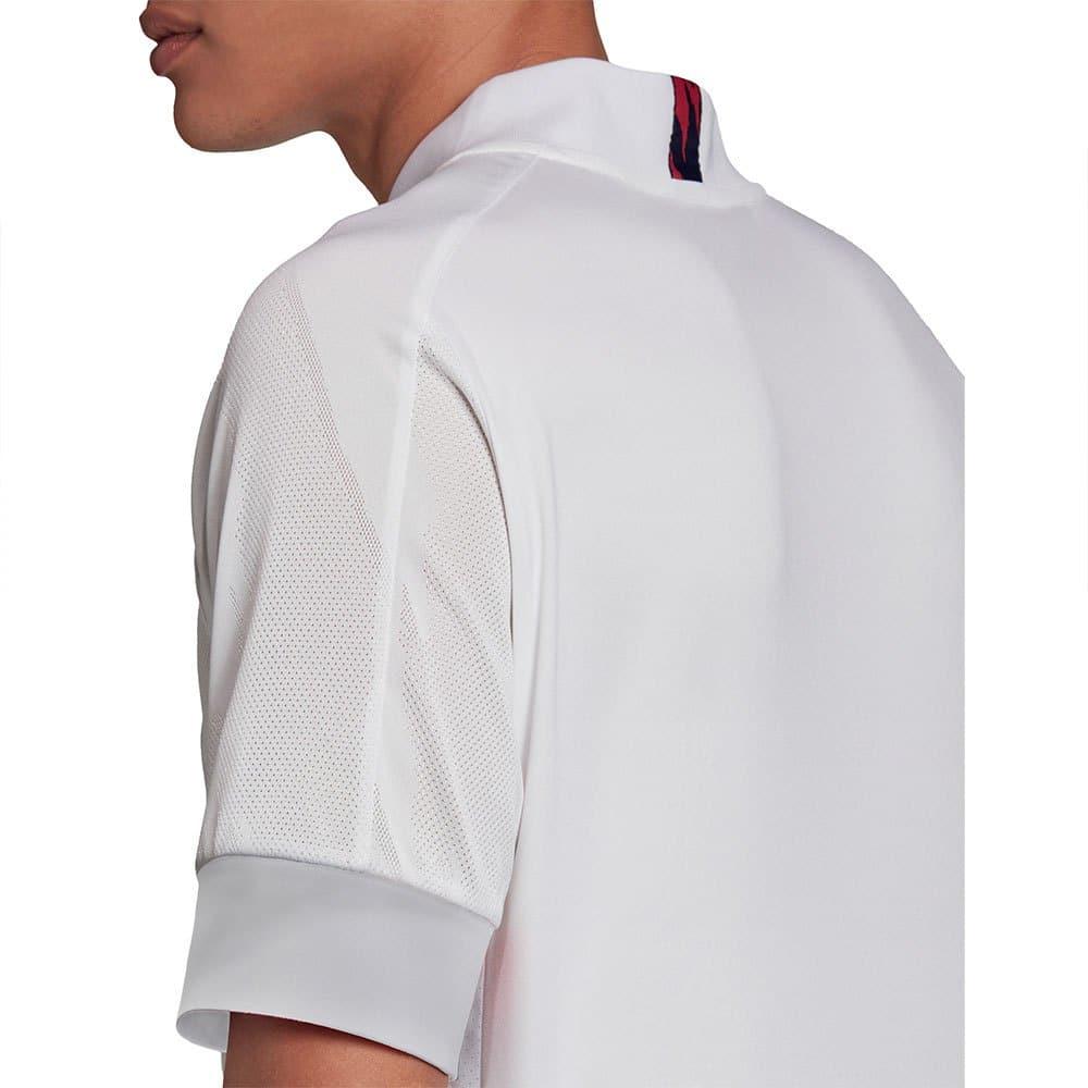parte de atras de la camiseta de local del real madrid 2020 - 2021