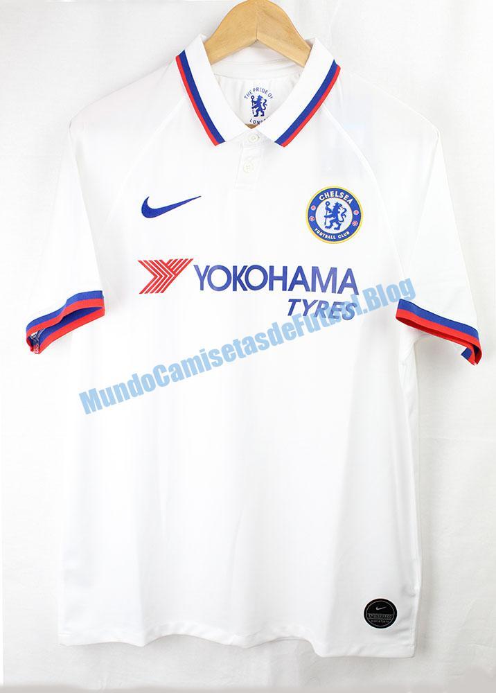 camiseta visitante del Chelsea 2 equipacion 2020
