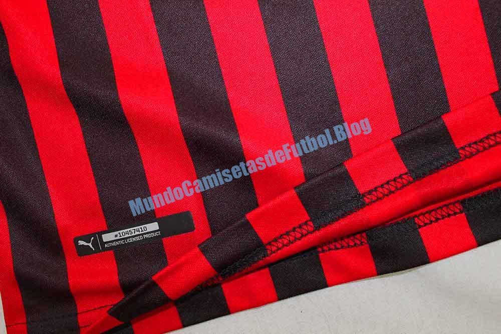 Camiseta local del AC Milan 1 Equipacion 2020