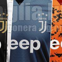 Las camisetas de la Juventus para la campaña 2021