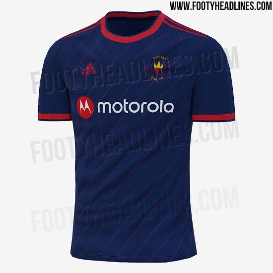 Camiseta Chicago Fire Nuevo logo 2021?