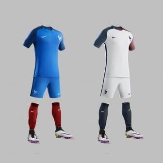 Desveladas camisetas de Francia 2019-2020