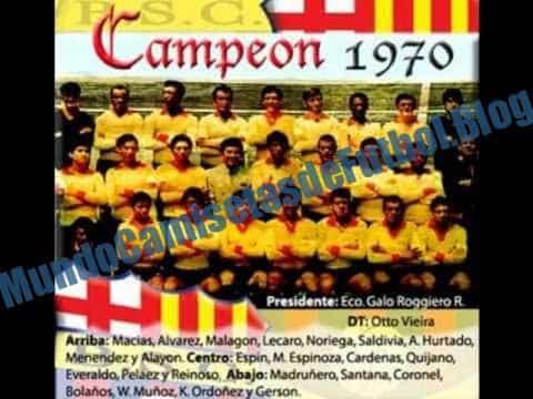 camiseta del barcelona de 1970