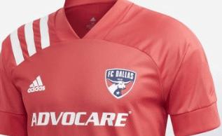 Camiseta del FC Dallas 2019/2020 de la MLS