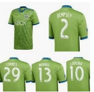 camiseta del Seattle 2020 de la MLS
