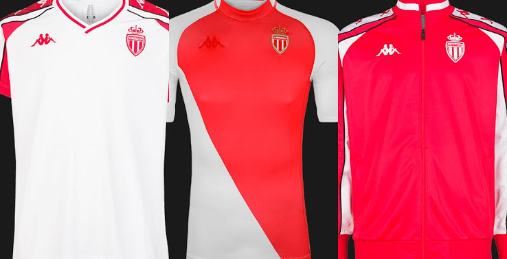 "Colección Camiseta Kappa AS Monaco ""Kombat 2020"""
