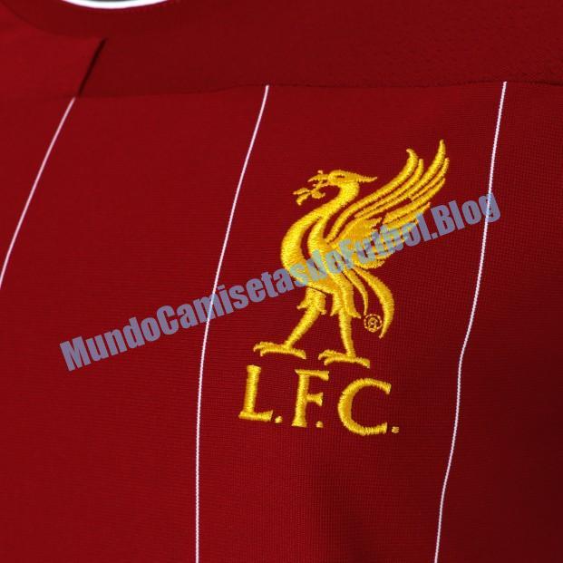 Camiseta local del Liverpool mujer 1 Equipacion 2020